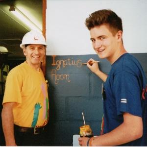 Kevin Higgins Ignatius Classroom