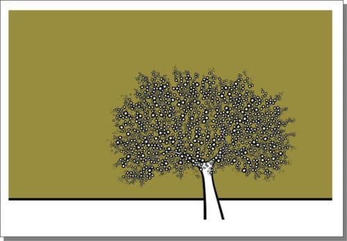 OLIVE TREE PRINT – BY RICHARD SCOTT